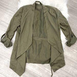 Babaton Short Flowy Trench Coat / Blazer - Aritzia